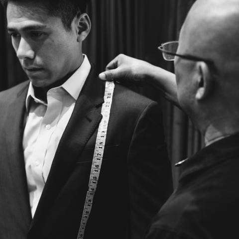 custom suit Manhattan NY