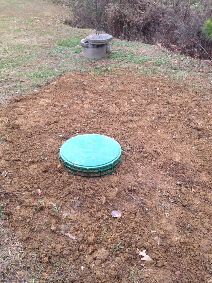 how to find septic tank clean out