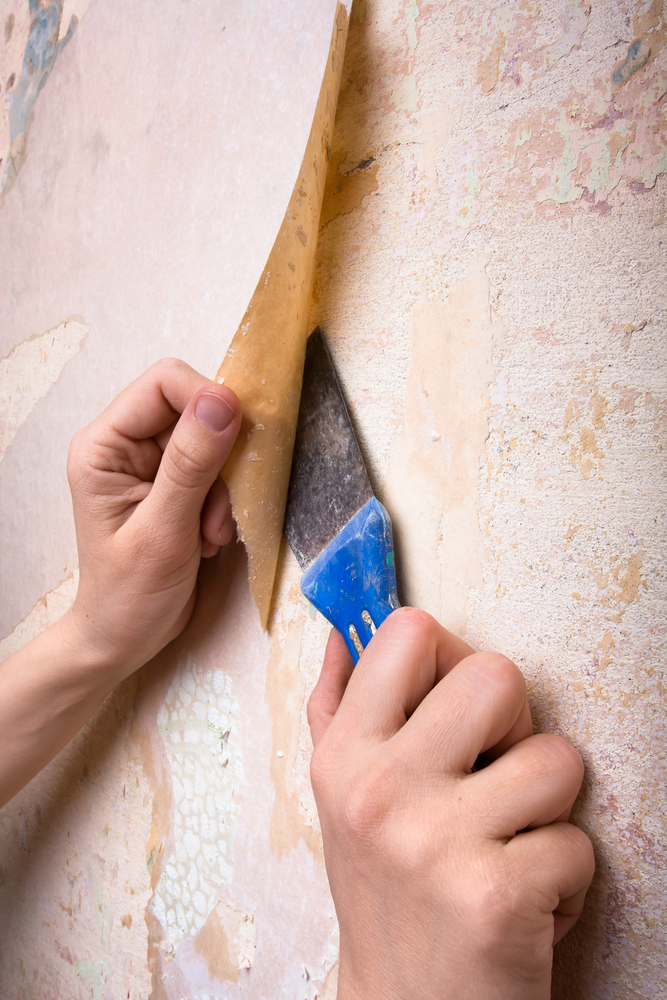 House painting pros answer 3 common questions about for How hard is it to remove wallpaper