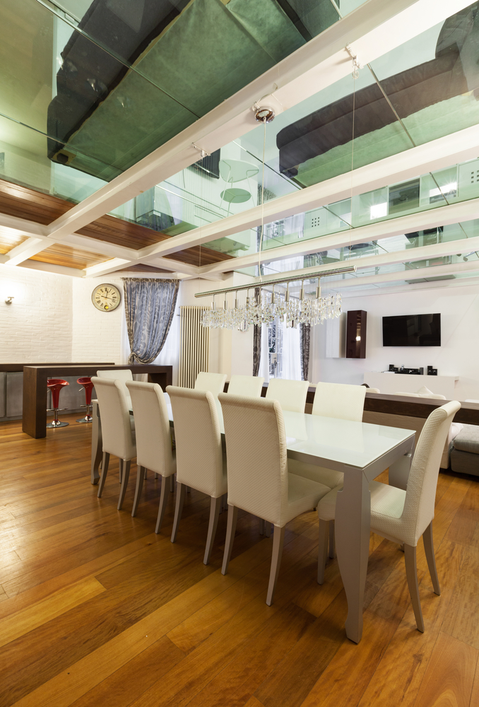 Your guide to picking dining room table size bova for Dining room table size guide