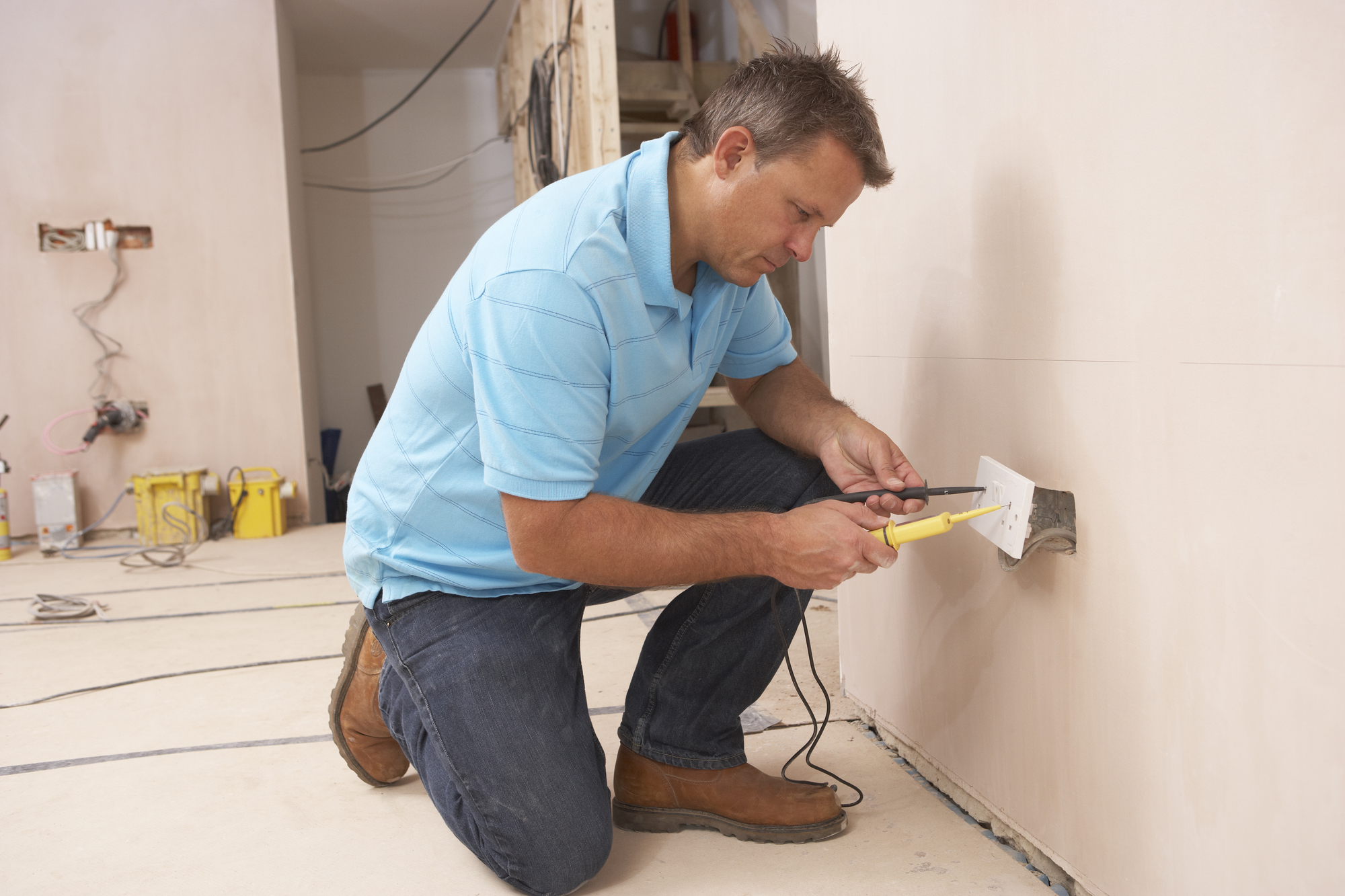 need an electrician  hire a licensed electrical contractor