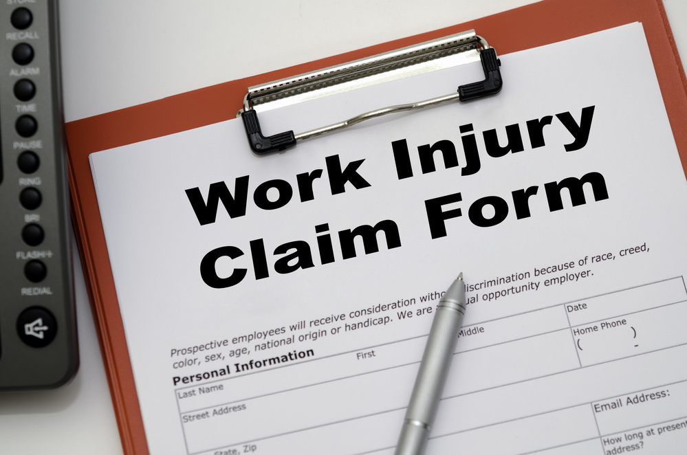 filing for injury claim
