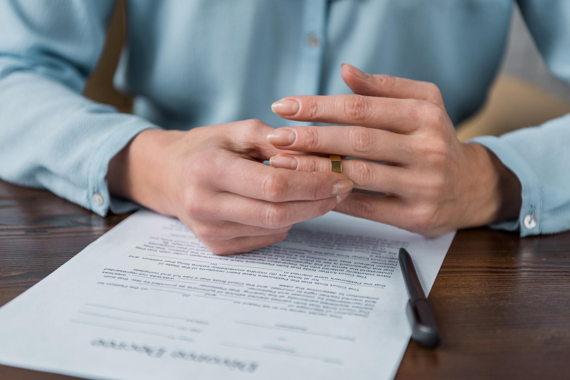 filing for legal separation