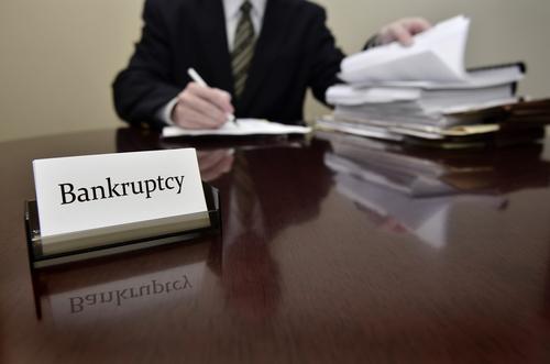 filing for bankruptcy