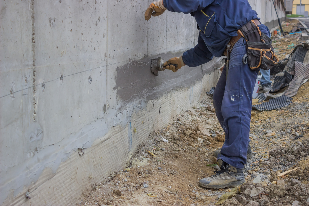 Concrete Block Foundation