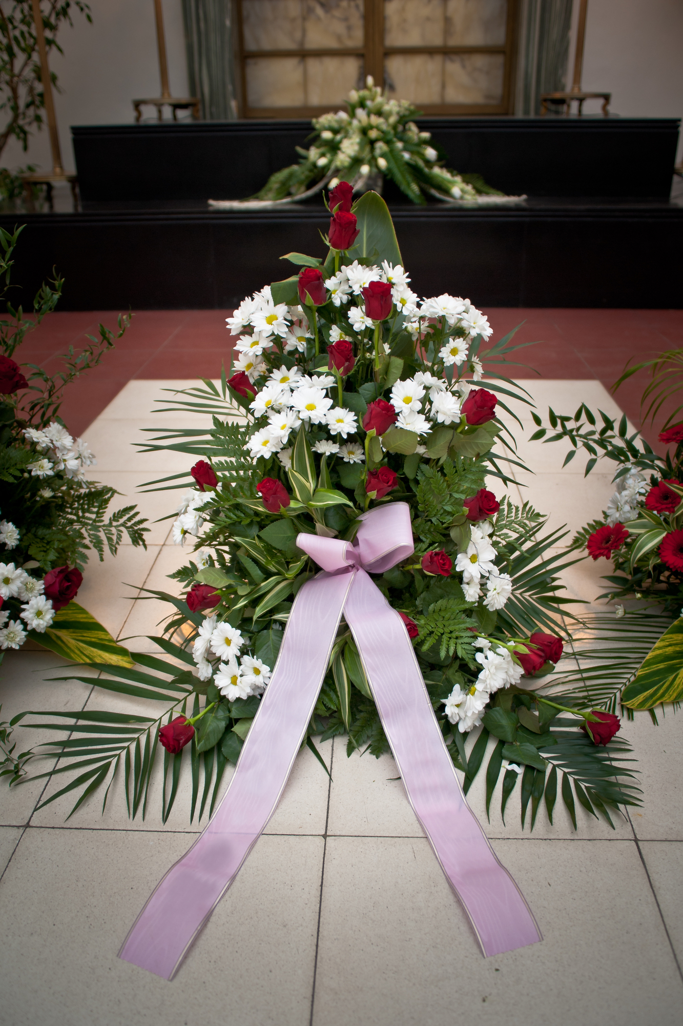 The Art Of Showing Sympathy With Funeral Flowers Swan Floral