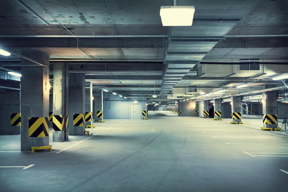 Parking garage New York NY