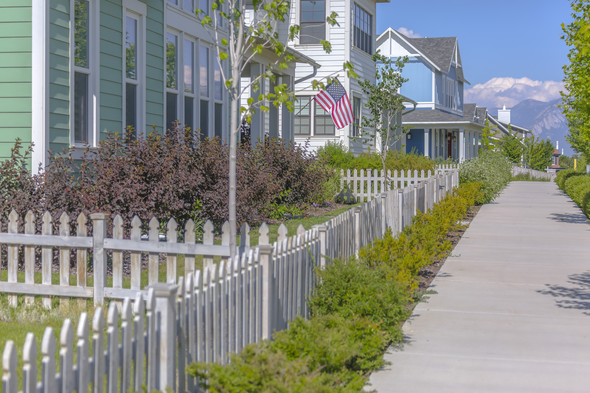 A Brief Introduction To The History Of Picket Fences Dalton Fence