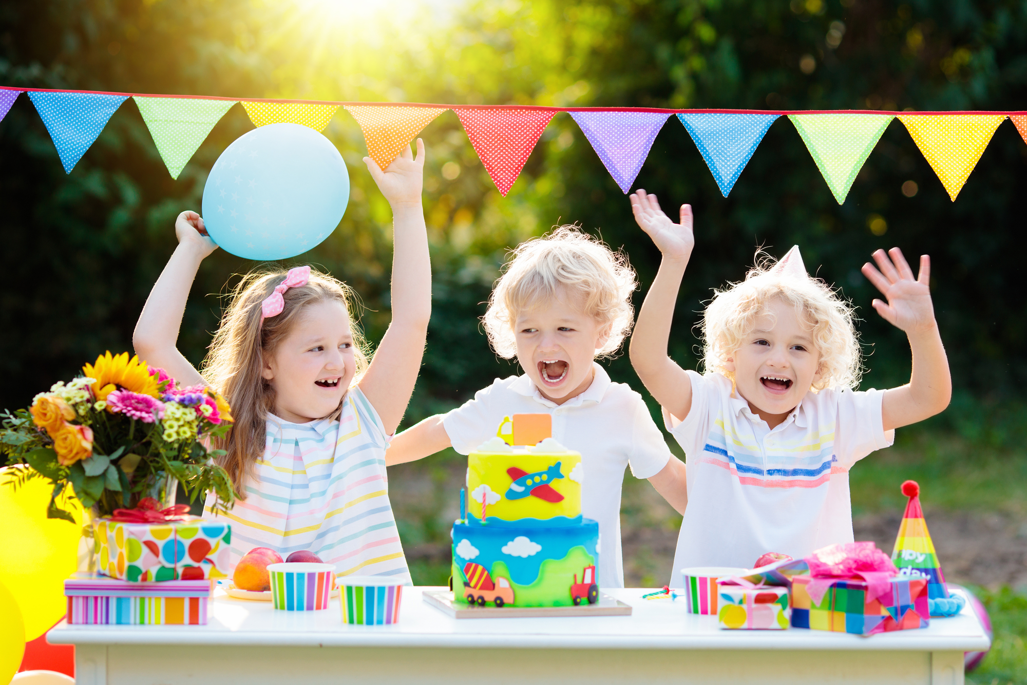 3 Fun Birthday Party Ideas For Young Children The Victors
