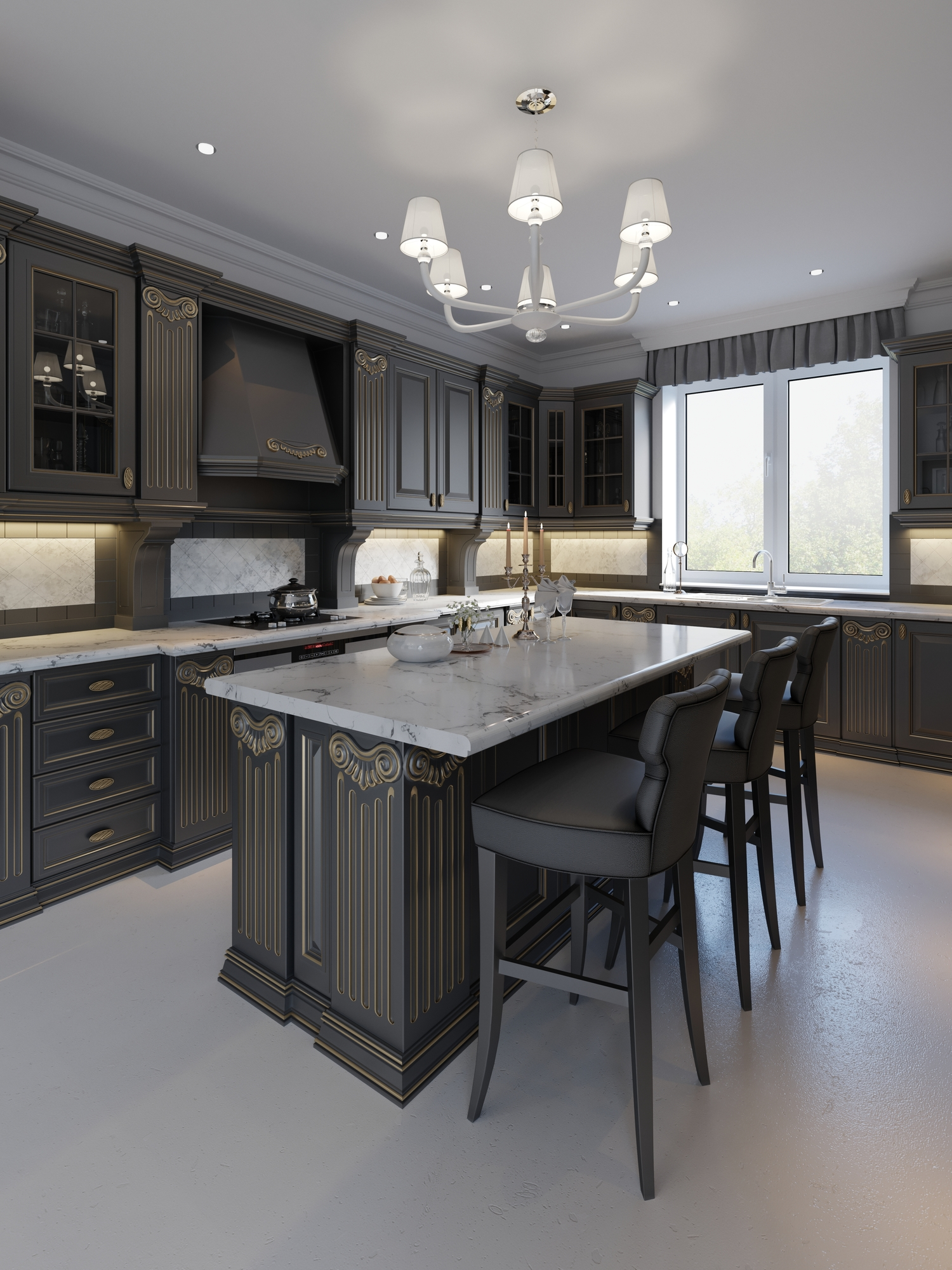 Which Kitchen Island Shape Is Right for You? - Big Island ...