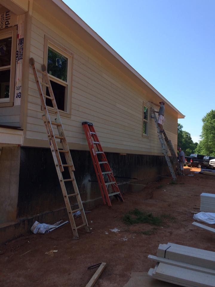 The first 5 steps commonly taken in the home building for First step in building a house