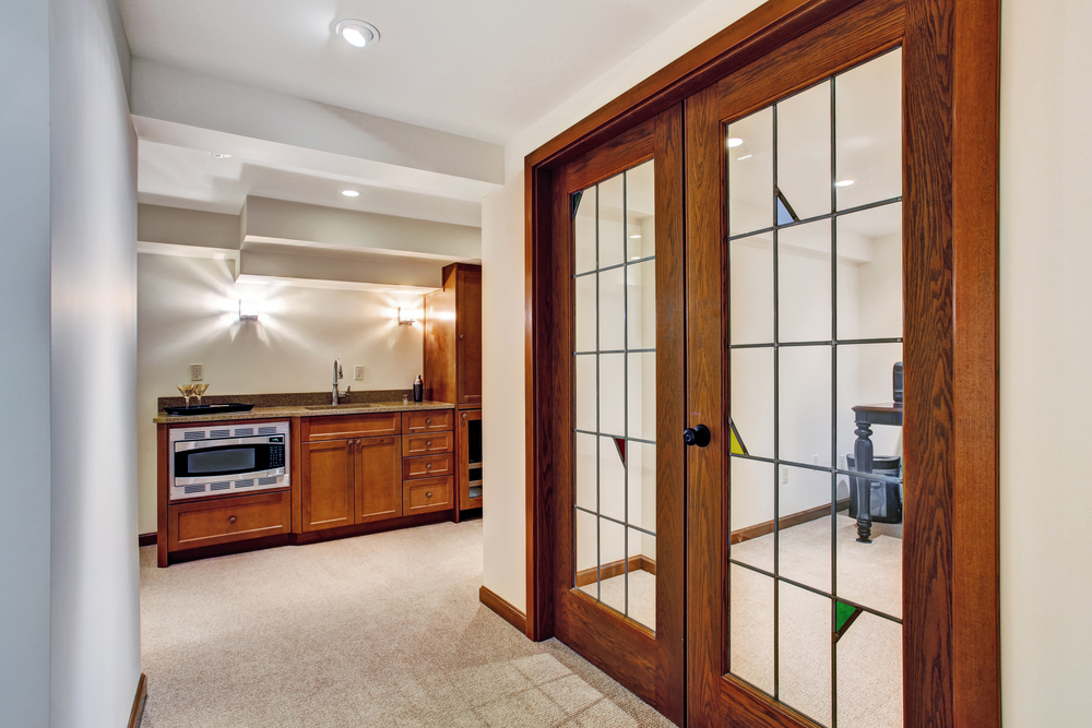 3 types of interior doors to transform your home akers - Menards exterior doors with glass ...