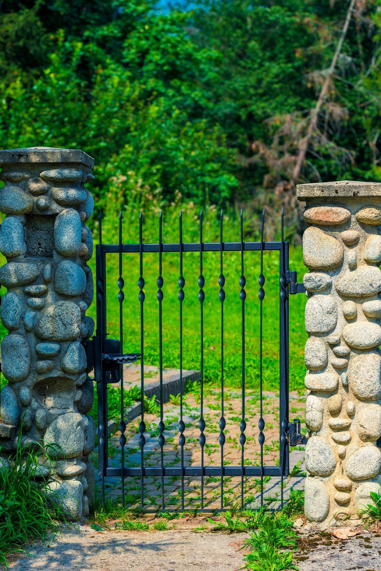 wrought iron gate Kalispell MT