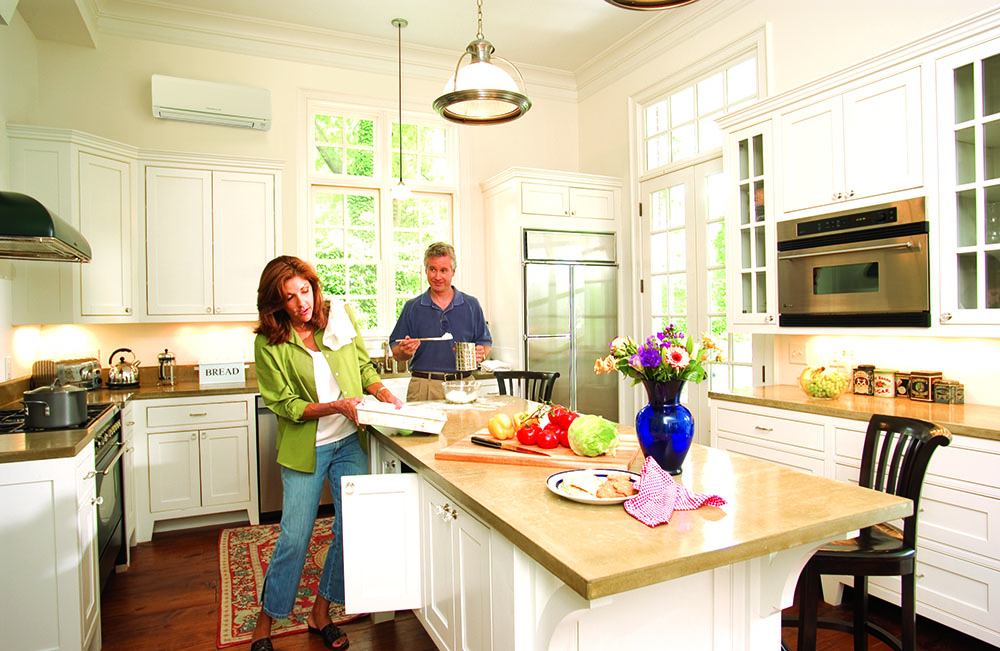ductless heating and cooling Brookline MA