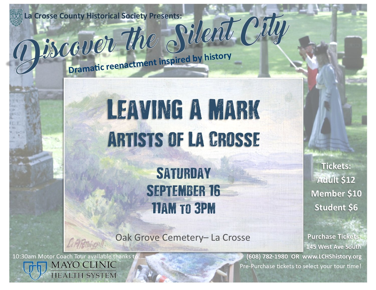 Oak Grove Cemetery & the La Crosse County Historical Society