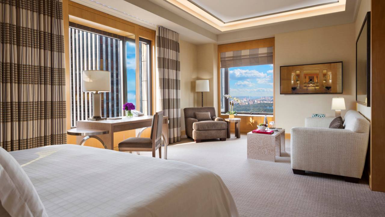 luxury hotel rooms in new york city - hospitality in new york city luxuryjourney - four seasons luxury hotel rooms in new york city