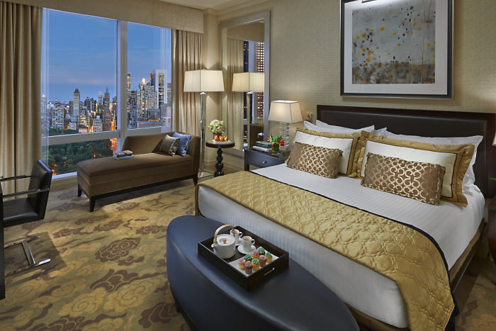 luxury hotel rooms in new york city - hospitality in new york city luxuryjourney - mandarin oriental luxury suites in nyc