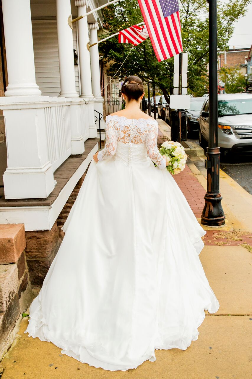 Manhattan, NY wedding dress