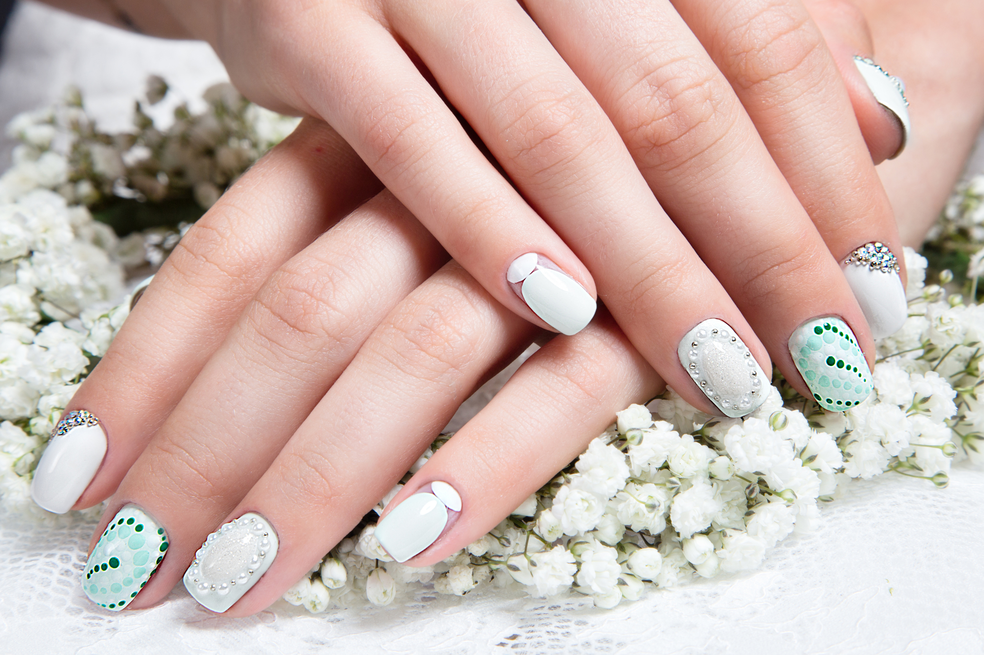 5 Beautiful Manicures for Your Wedding Day - Maria\'s Salon & Spa ...