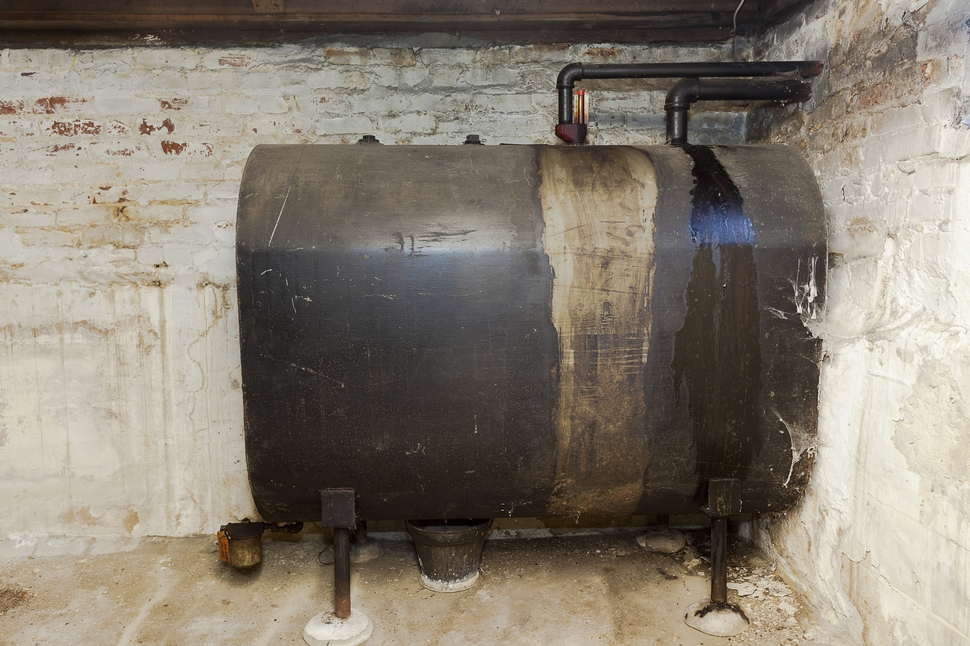 oil tank installation