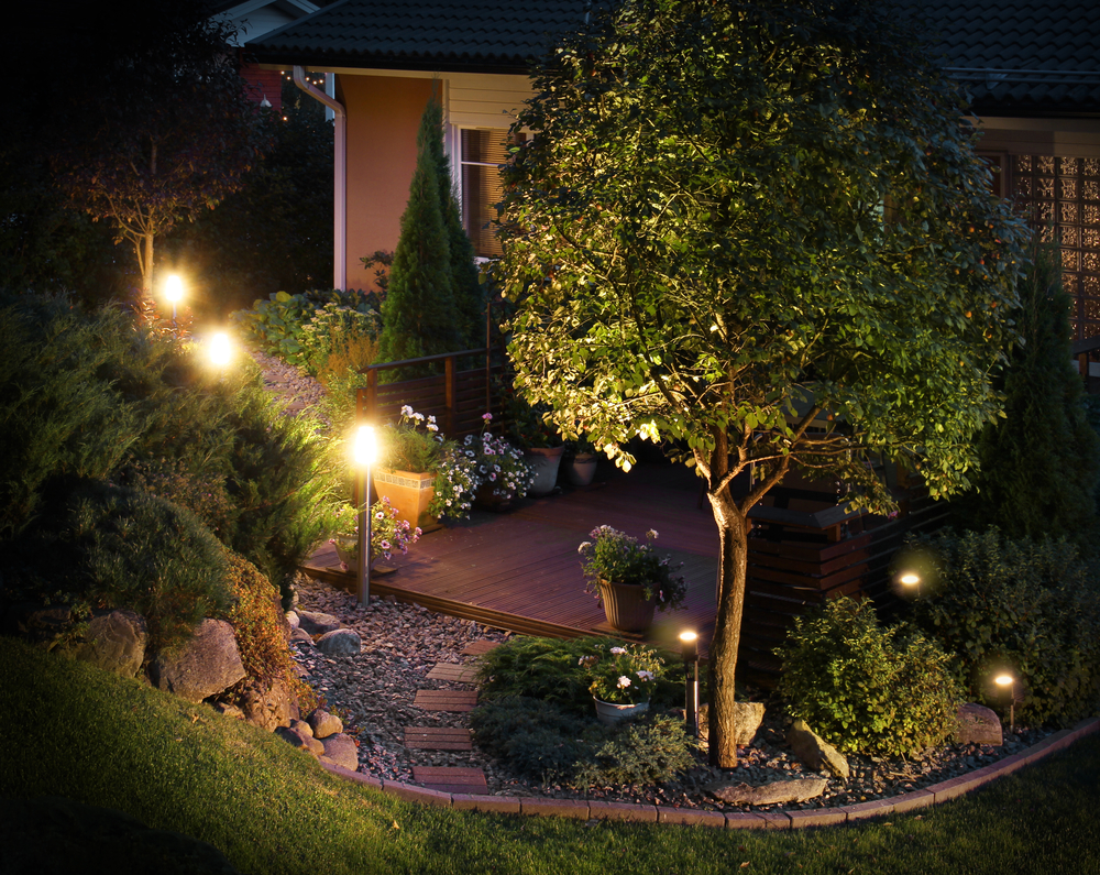 A guide to outdoor security lighting sked electric llc old lyme lighting aloadofball Gallery