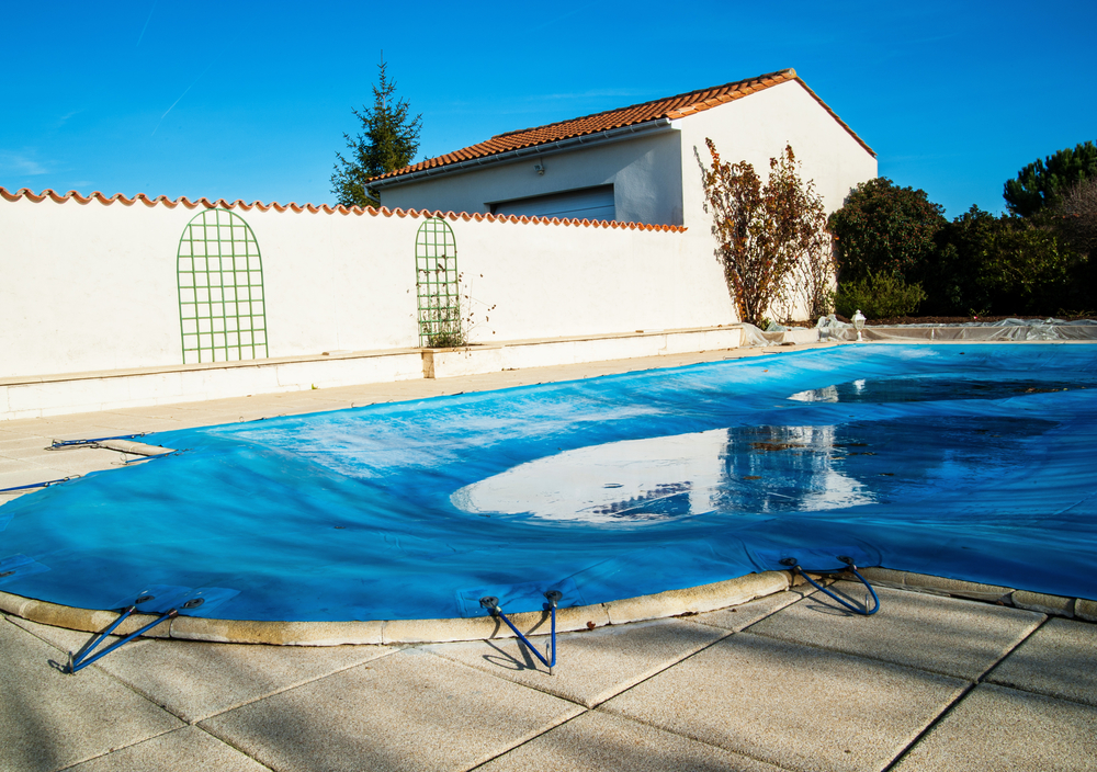 Adding Products Such As Chlorine Shock And Algaecide Will Prevent The Water  In Your Pool From Freezing Entirely. They Will Also Ensure It Remains  Clean, ...