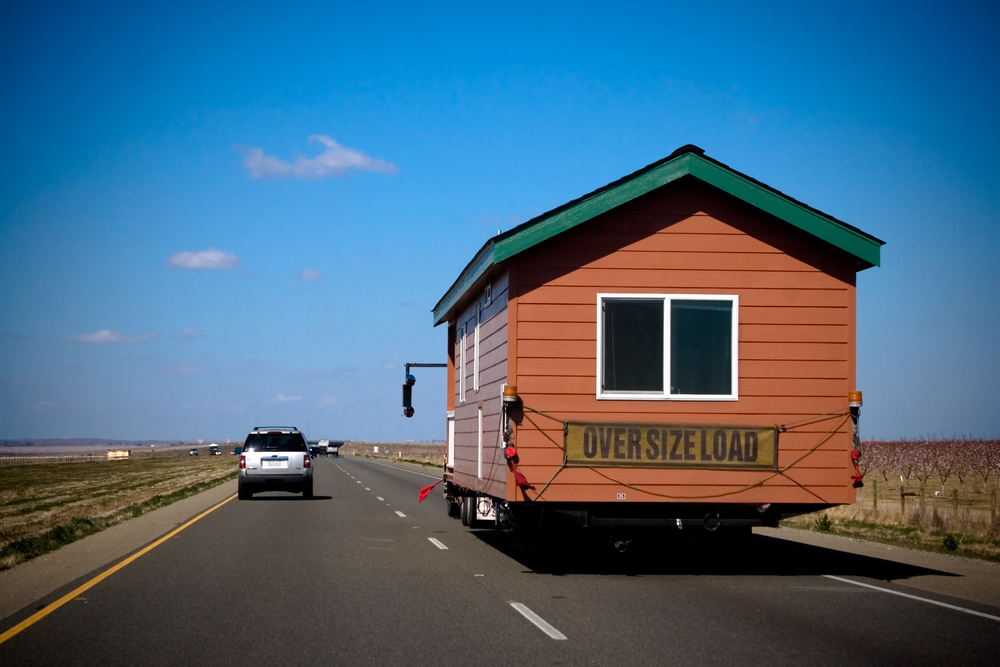 To ensure safe stable travel on roads and highways modular homes are constructed with a