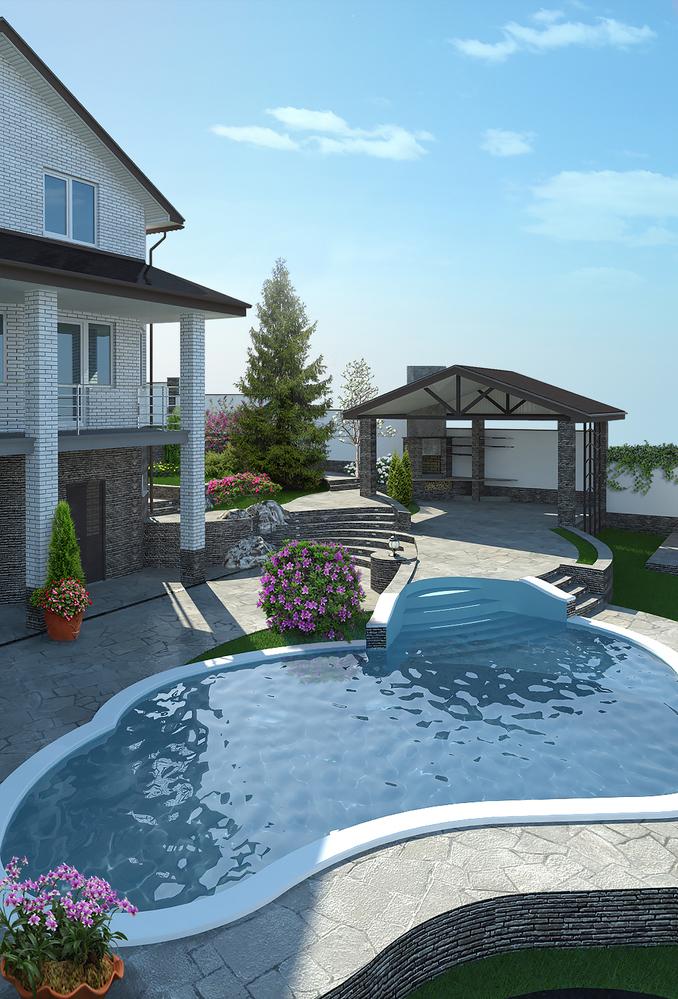 Short Hills, NJ pool remodeling