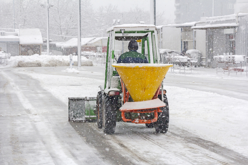 Snow removal in La Crosse, WI