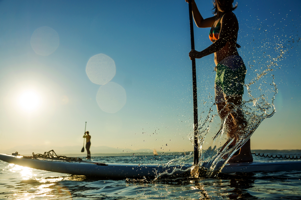 Stand up paddle boarding in Honolulu, HI