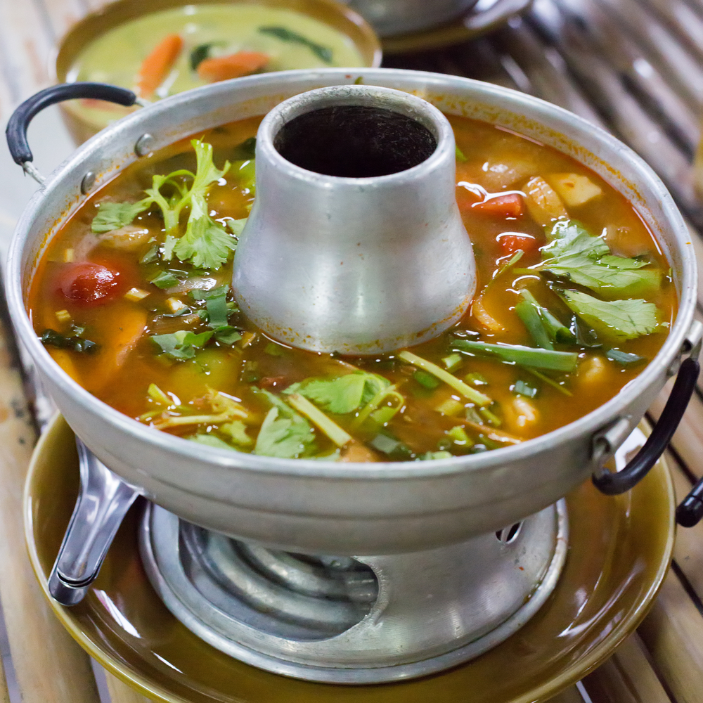 Try this delicious thai tom yum soup recipe from hawaii s for At home thai cuisine