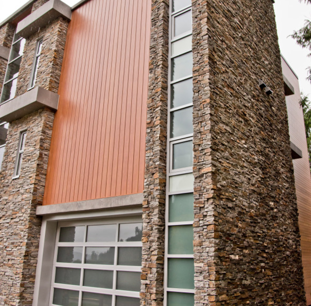 3 impressive vertical siding options from mason 39 s siding for Vertical siding options