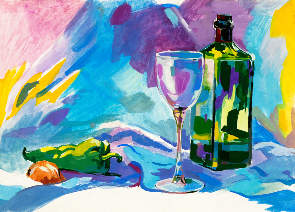 Wine painting how to perfect your bachelorette party for Painting and wine