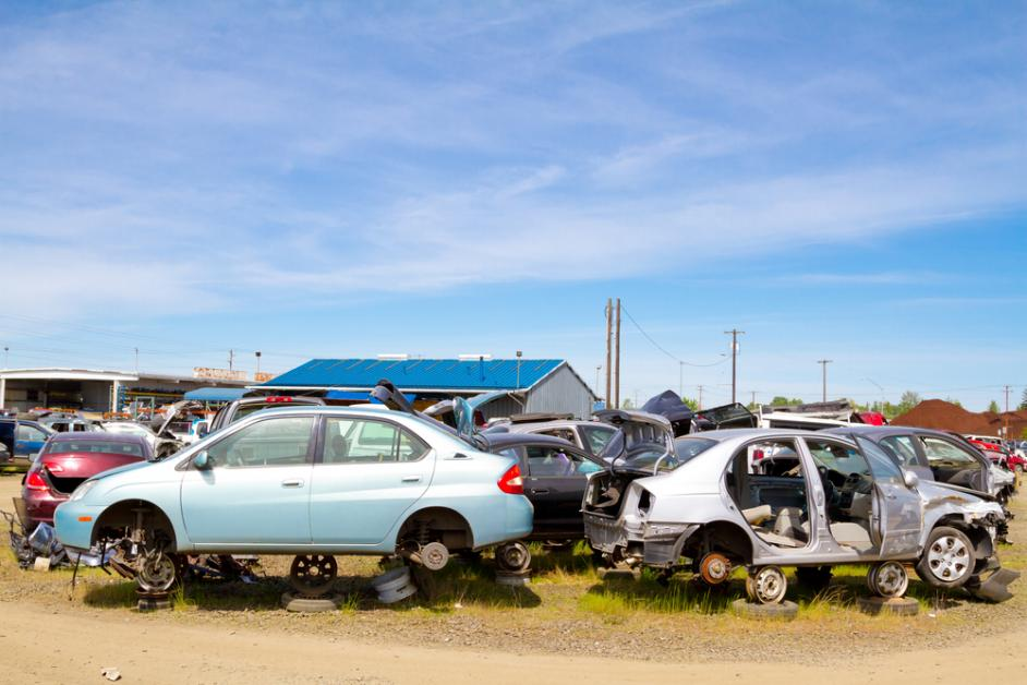 How Do Auto Salvage Yards Work Kev S Towing Amp Auto