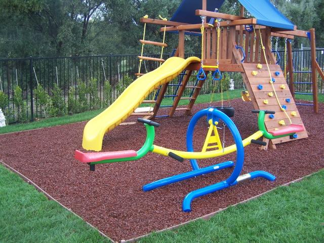 5 Things to Put Under Your Playset to Save Your Child From ...