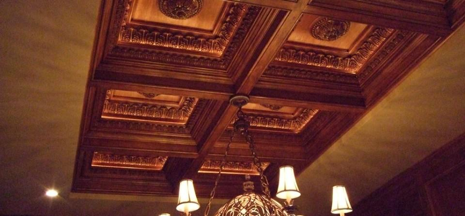Transform Your Dining Room With A Custom Woodwork Box Beam