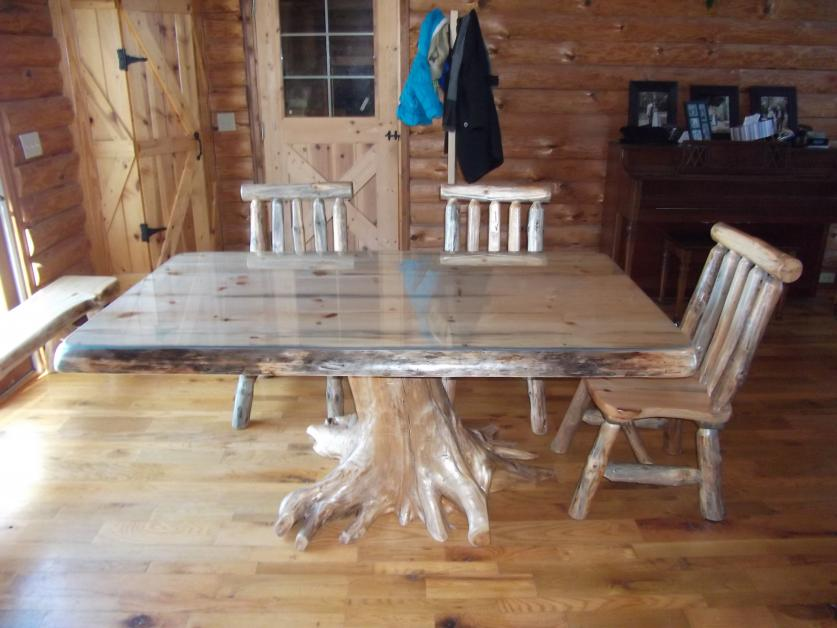 Protect Your Beautiful Wood Table With A Glass Table Top From