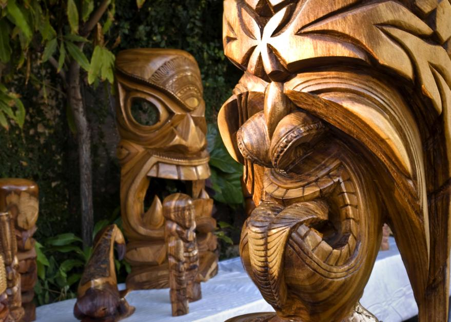 The Meaning Behind Tiki Statues A Popular Hawaiian Themed Gift