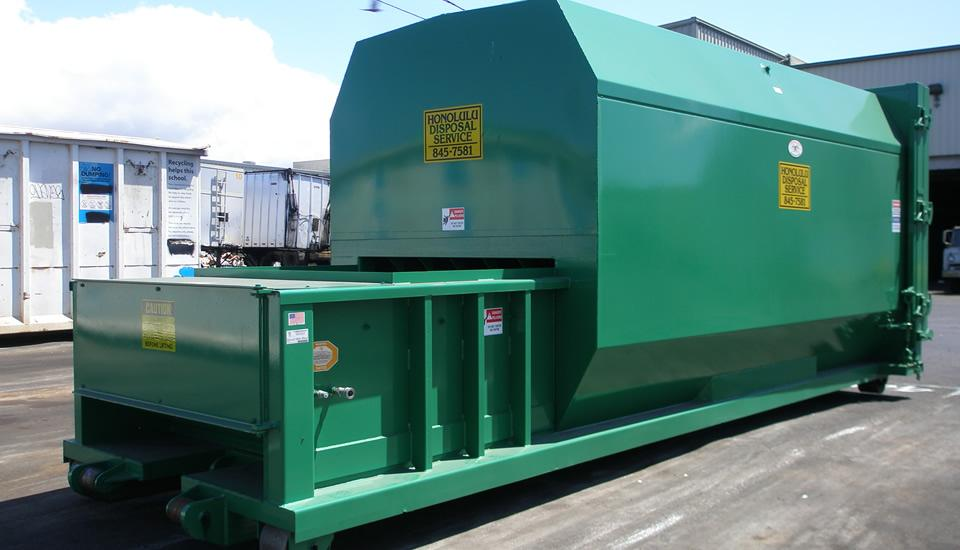Landfill Compactor Maintenance : Why your business should use a commercial trash compactor