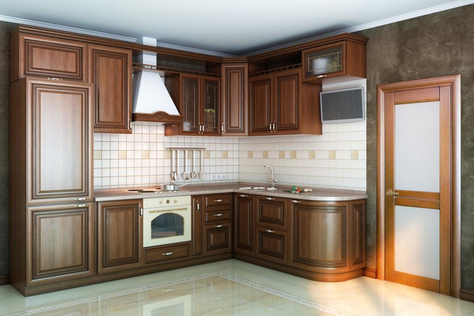 How to Decide Between Painted & Stained Kitchen Cabinets ...