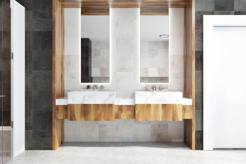 Choosing Between Single Double Bathroom Vanities Arrow