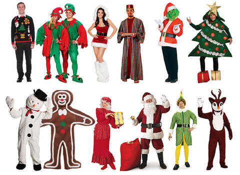 Christmas In July Party Clipart.Celebrate Christmas In July With Santa Costumes From Economy