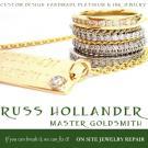 R.Hollander Master Goldsmith, Wedding Jewelry, Silversmiths & Goldsmiths, Custom Jewelry, Stamford, Connecticut
