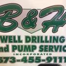 B & H Well Drilling Pump Service Inc., Well Drilling Services, Water Well Drilling, Jefferson City, Missouri