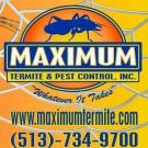 Maximum Termite & Pest Control Inc , Termite Control, Exterminators, Pest Control and Exterminating, Bethel, Ohio