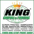 King Graphics & Printing, Screen Printing, Services, Deer Park, New York
