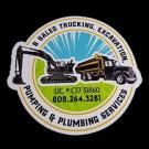 B Sales Trucking, Excavation, Pumping & Plumbing Services, Septic Tank, Excavation Contractors, Plumbing, Makawao, Hawaii