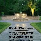 Rick Thomas Concrete, Retaining Walls, Decorative Concrete, Concrete Contractors, Saint Louis, Missouri