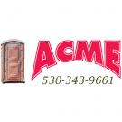 Acme Toilet Rentals, Portable Toilets, Services, Chico, California