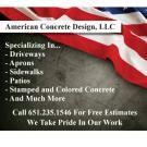 American Concrete Deisgn LLC, Concrete Contractors, Services, Farmington, Minnesota